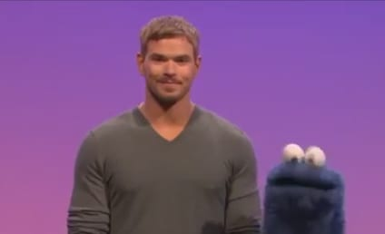 Kellan Lutz on Sesame Street: All About Vibrators!