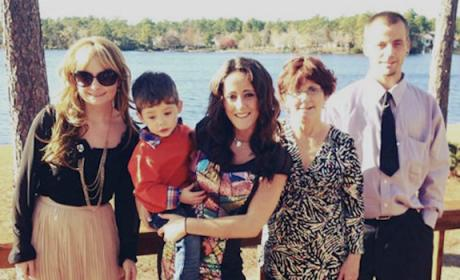 Jenelle Evans Family Photo