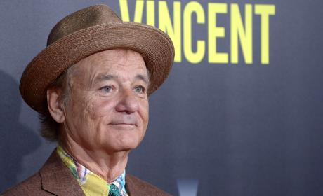 Bill Murray SNAPS: Throws Fans' Cell Phones Off the Roof!!