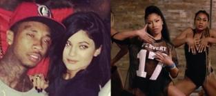 Nicki Minaj, Kylie Jenner and Tyga