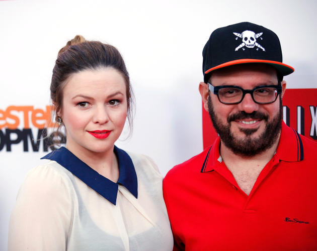 Amber Tamblyn and David Cross Photo