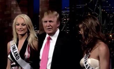 Donald Trump and Ninni Laaksonen