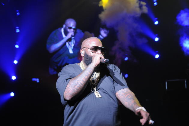 Rick Ross on Stage