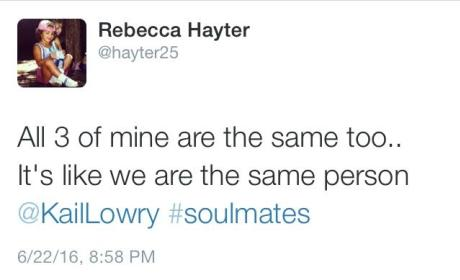 Becky Hayter to Kailyn Lowry: We're Soulmates!