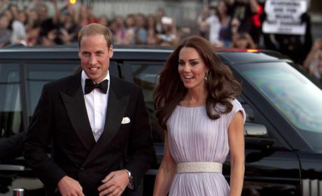 British Invasion: Prince William & Kate Middleton Dazzle at BAFTA Event, Polo Match