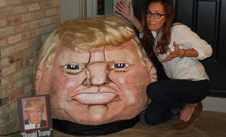 374-Pound Donald Trump Pumpkin Will Haunt Your Dreams