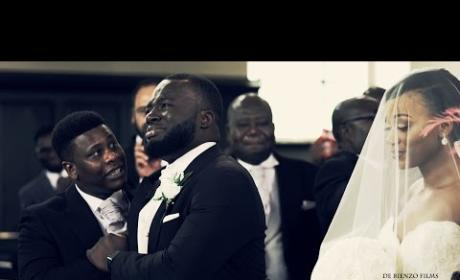 Groom Breaks Down in Beautiful Fashion Upon Seeing Bride