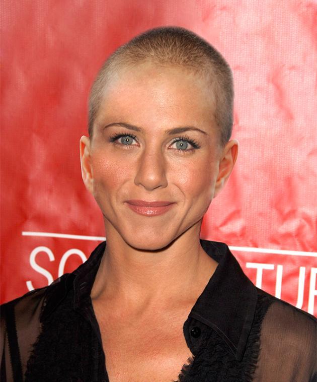 Jennifer Aniston Bald
