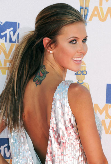 Audrina Patridge, Tattoo