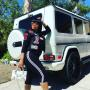 Blac Chyna, Her Bump and a Mercedes