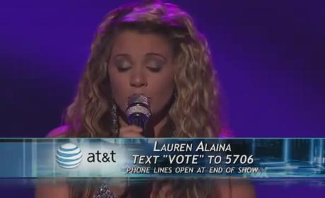Lauren Alaina - Candle in the Wind