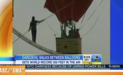 Man Sets Record For Fastest High Wire Walk