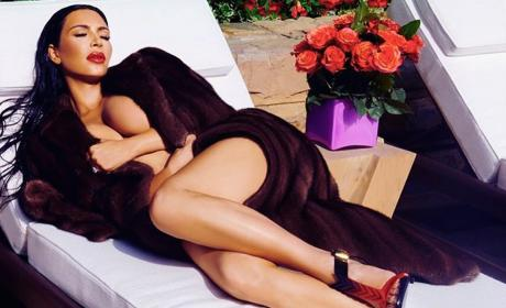 Kim Kardashian Website Photo