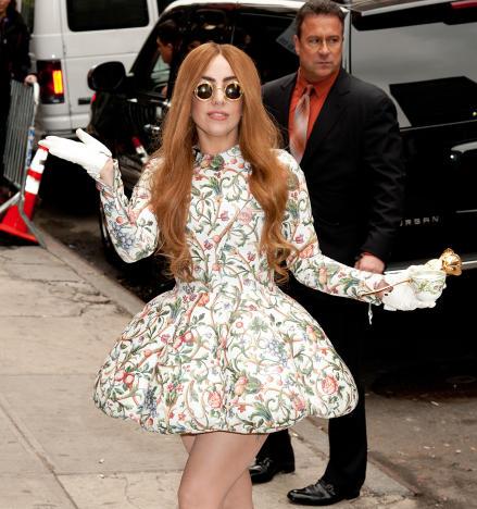 Lady Gaga NYC Photo