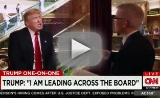Donald Trump to Anderson Cooper: No One Trusts You!