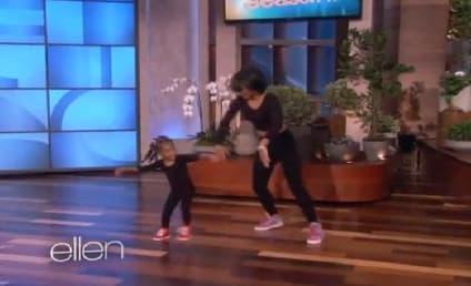 Heaven: Three-Year-Old Beyonce Dancer Struts Her Stuff on Ellen!