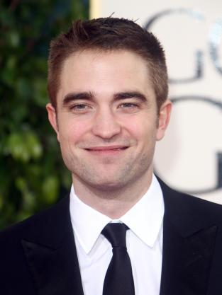 Robert Pattinson Smirking