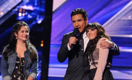 The X Factor Results: Two Get the Boot