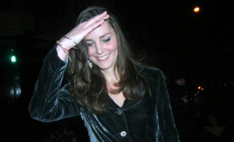 Kate Middleton Leaves Boujis In December 2007
