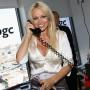Pamela Anderson Participates In Annual Charity Day Hosted by Cantor Fitzgerald and BGC Partners