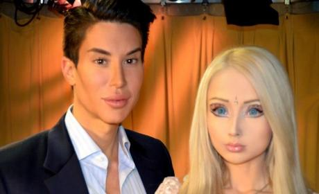 Human Barbie RIPPED By Human Ken: Justin Jedlica Not a Valeria Lukyanova Fan!