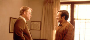 Robin Williams and Philip Seymour Hoffman