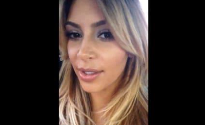 "Kim Kardashian Films Photographers, Is Having the ""Best Day Ever"""