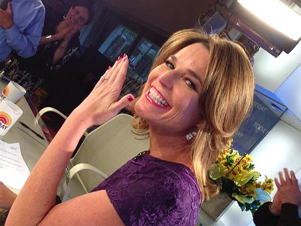Savannah Guthrie Engagement Ring