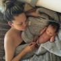 Chrissy Teigen and daughter Luna