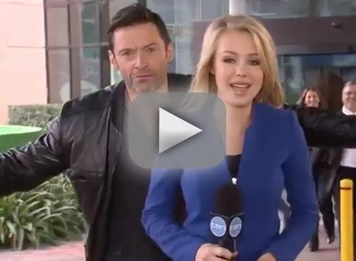 Hugh jackman videobombs live news report