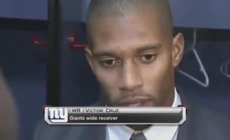 Victor Cruz Honors Jack Pinto, Newtown Shooting Victim, During Giants Game