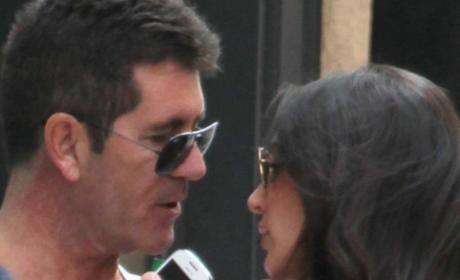 "Simon Cowell and Lauren Silverman: ""100 Percent"" Together!"
