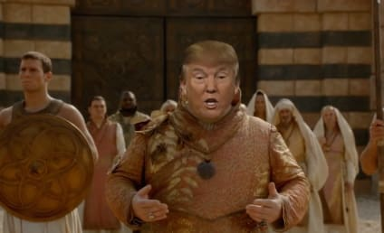Donald Trump Pays a Visit to Game of Thrones