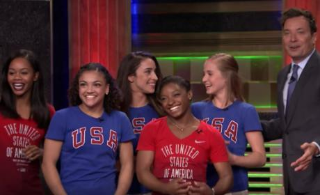 Final Five Play Hungry Hungry Human on The Tonight Show