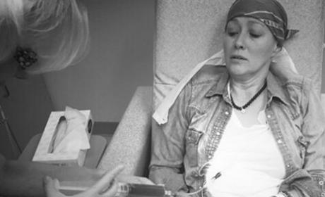 Shannen Doherty Gets Chemo Pic