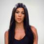 Kourtney Kardashian Looks Bored