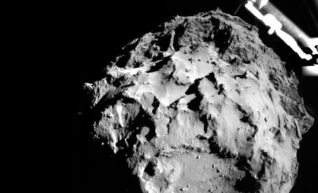Comet Landing Spaceship Completes Historic Journey