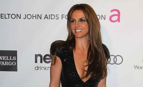 Britney Spears Brunette