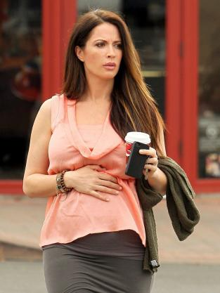Laura Bellizzi, Pregnant