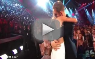 Taylor Swift Kisses Calvin Harris!!!