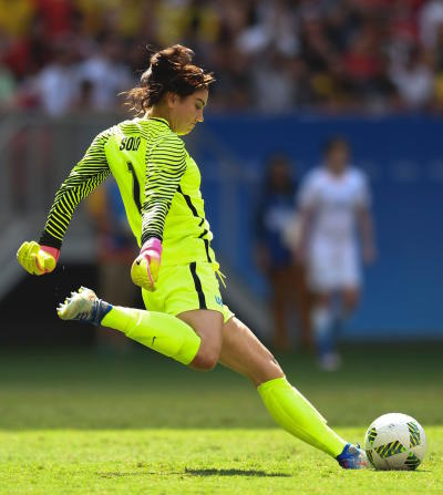 Hope Solo Booted