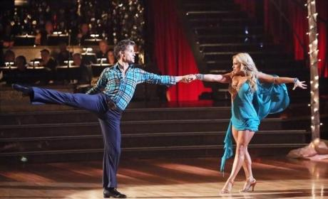 Sabrina Bryan and Louis van Amstel Routine