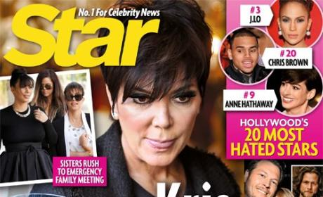 Kris Jenner Calls BS on Star Magazine, Refutes Divorce Story