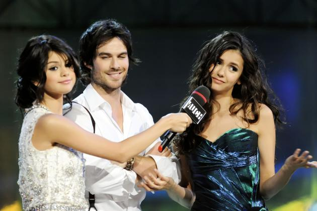 Ian Somerhalder and Nina Dobrev Pic