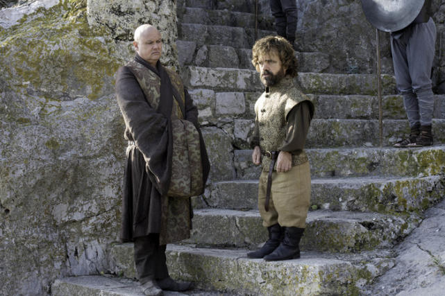 Varys and tyrion look confused