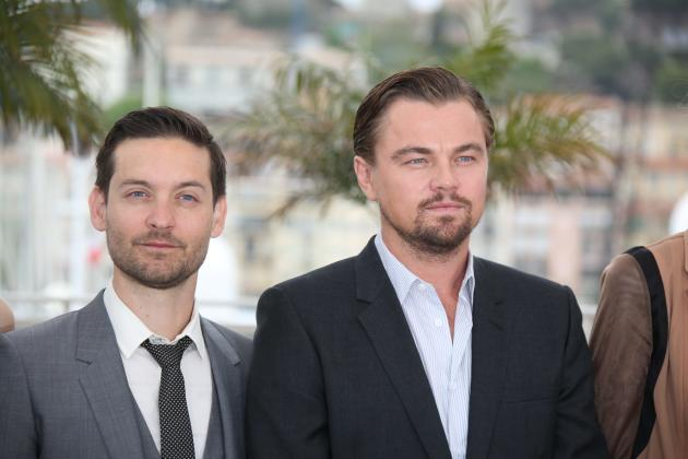 Leonardo DiCaprio and Tobey Maguire