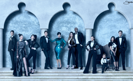 2011 Kardashian Christmas Card