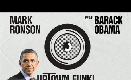 "Barack Obama Sings ""Uptown Funk,"" Makes Bruno Mars and Mark Ronson Proud"