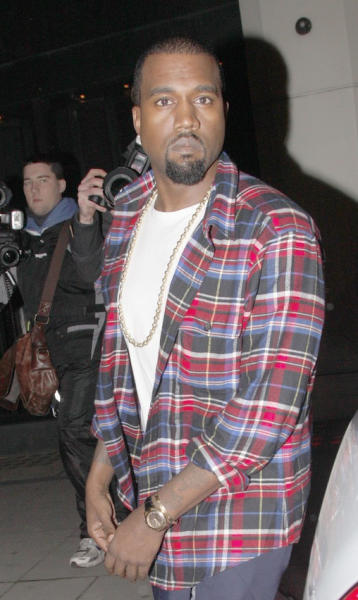 Kanye West Death Stare
