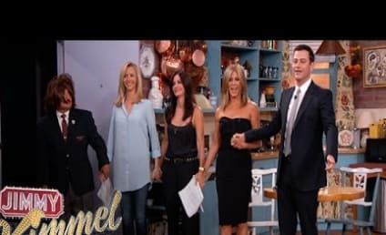 Jimmy Kimmel Stages Epic Friends Reunion: Look Who Showed Up!